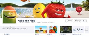 Fan Page Facebook Oasis